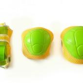 Защита детская 4 расцветки Для роликов, скейтборда, самоката и др Наколенники, налокотники, перчатки