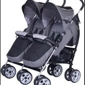 Прогулочная коляска трость для двойни easygo comfort  duo ИзиГоу