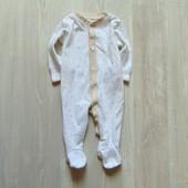 Человечек для мальчика. Matalan. Размер 0-3 месяца. Состояние: хорошее
