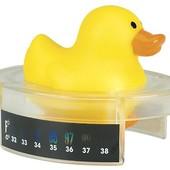 2 в1 термометр для воды и игрушка для купания Уточка Safety 1st