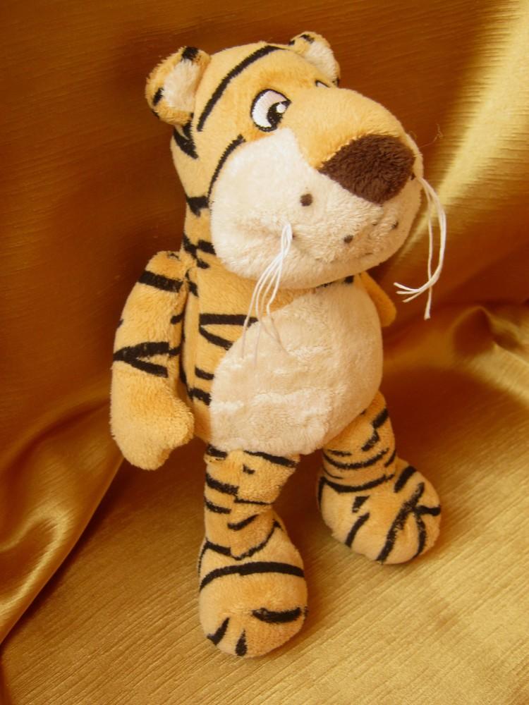 Мягкие игрушки - тигр фото №1