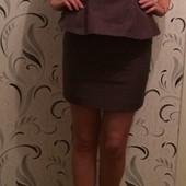 Платье футляр с баской H&M p.s
