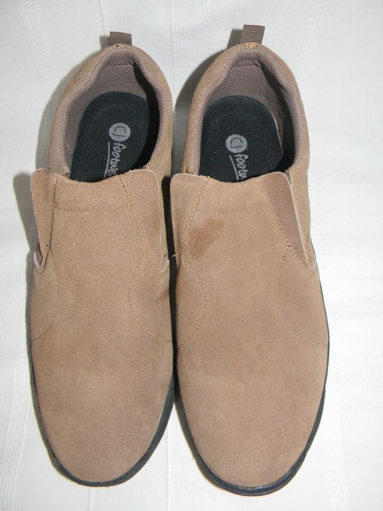 Мужские замшевые мокасины footwear р.12 дл.ст 30см фото №1