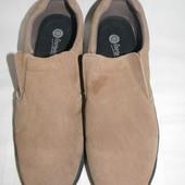 Мужские замшевые мокасины footwear р.12 дл.ст 30см