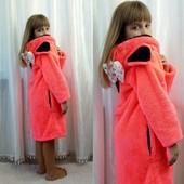 Детский халат Минни с ушками