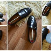 Стильные туфли-лоферы,Loake кожа, р-р 44-44,5