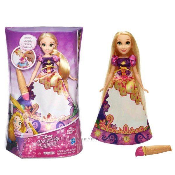 Принцесса рапунцель в волшебной юбке hasbro disney princess b5297 фото №1