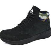Зимние кроссовки Adidas B17 Black