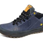 Зимние кроссовки New Balance NB1 Blue