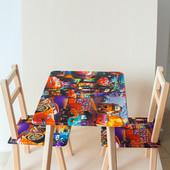 Столик стол деревянный мини + 2 стула серии