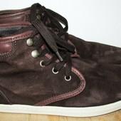 замшевые ботинки 25.5 см