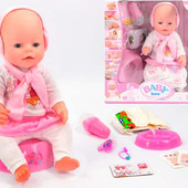 Пупс беби берн Baby Born 8 функций.