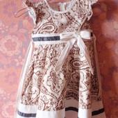 Красивое платье на рост 92-98 см