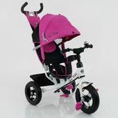 Велосипед трехколесный Best Trike 5555 (надувные колеса)
