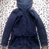 Красивое пальто полупальто H&M размер 36 или S