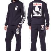 Мужской спортивный костюм Adidas  двухнитка