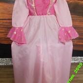 Карнавальное платье на 7-10 лет