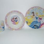 Набор детской посуды Принцессы Диснея