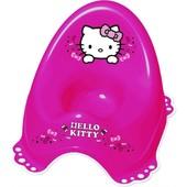 Горшок 'Hello Kitty' c нескользящими резинками Maltex 3011 Польша розовый 12115104