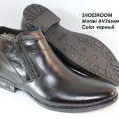 Классические зимние мужские ботинки разные модели, 40-45