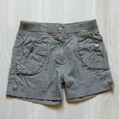 Стильные шорты для девочки. Persival. Размер 6-7 лет, рост 116-122 см. Состояние: отличное