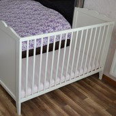 Детская кроватка Ikea Hensvik с Latex komfort