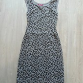 Стильное платье в леопардовый принт для девочки. Y.D. Размер 12-13 лет. Состояние: новой вещи