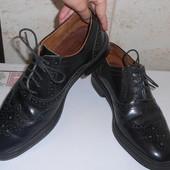 Туфли броги натуральная кожа р. 42 (28 см)