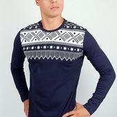 Мужской Осенний свитер, батник