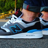 Кроссовки New Balance Gray+blue