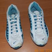 Фирменные кроссовки Nike max air для девушки (мужчины), размер 7 (26,5 см)