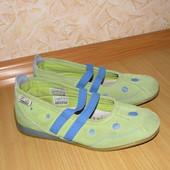 trendy club мокасины туфли замша 32 р по вст 21 см