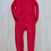 Шикарный теплый человечек с капюшоном для девочки. M&S. Размер 7-8 лет. Состояние: новой вещи