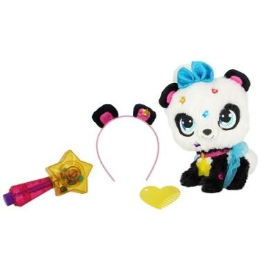Shimmer stars игровой набор с мягкой игрушкой панда пикси мягкая игрушка волшебная палочка браслет фото №1