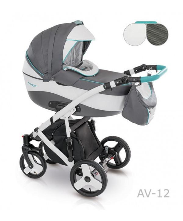 Детская универсальная коляска 2 в 1 camarelo avenger av - 13 фото №9