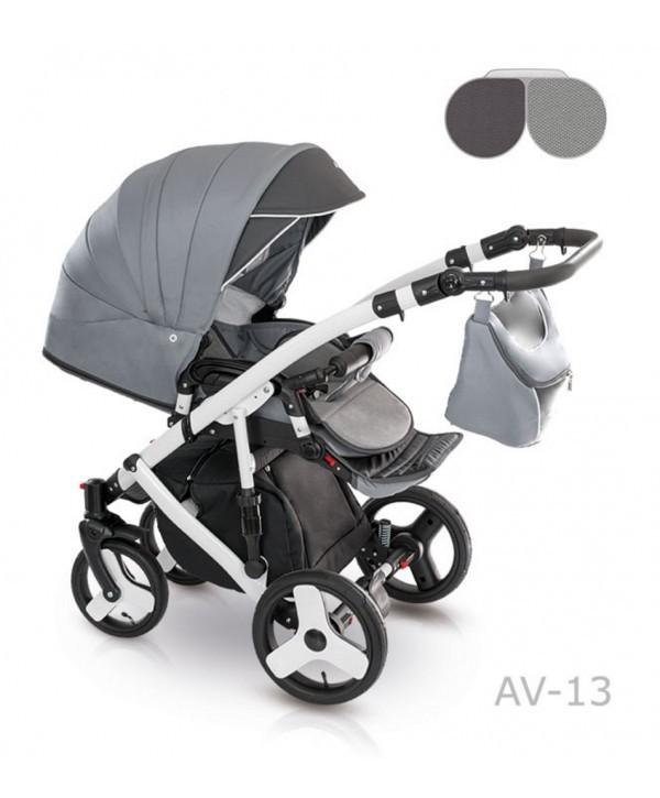 Детская универсальная коляска 2 в 1 camarelo avenger av - 13 фото №10