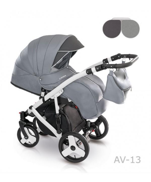 Детская универсальная коляска 2 в 1 camarelo avenger av - 13 фото №11