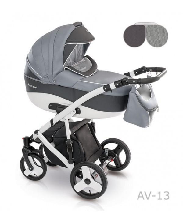 Детская универсальная коляска 2 в 1 camarelo avenger av - 13 фото №12