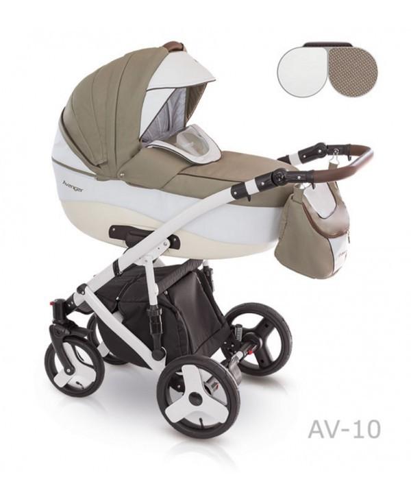 Детская универсальная коляска 2 в 1 camarelo avenger av - 13 фото №1
