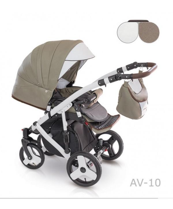 Детская универсальная коляска 2 в 1 camarelo avenger av - 13 фото №2