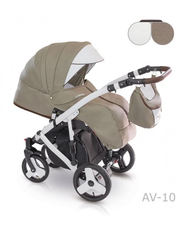 Детская универсальная коляска 2 в 1 camarelo avenger av - 13 фото №3
