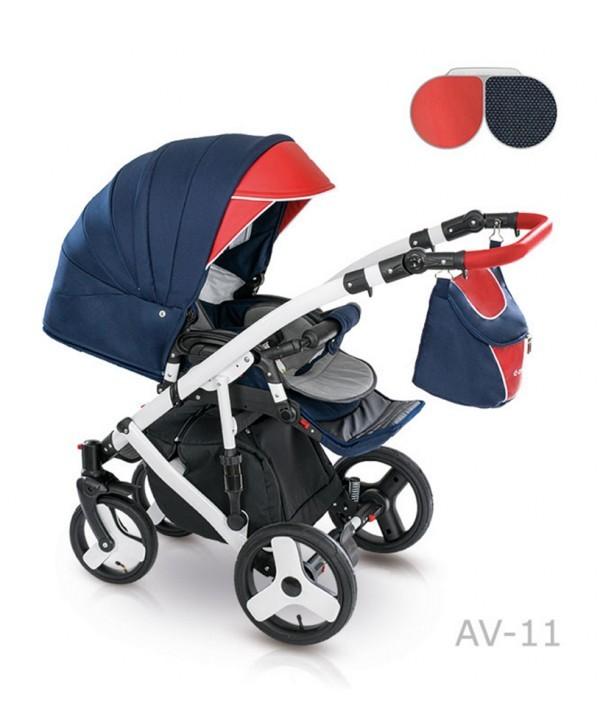 Детская универсальная коляска 2 в 1 camarelo avenger av - 13 фото №4
