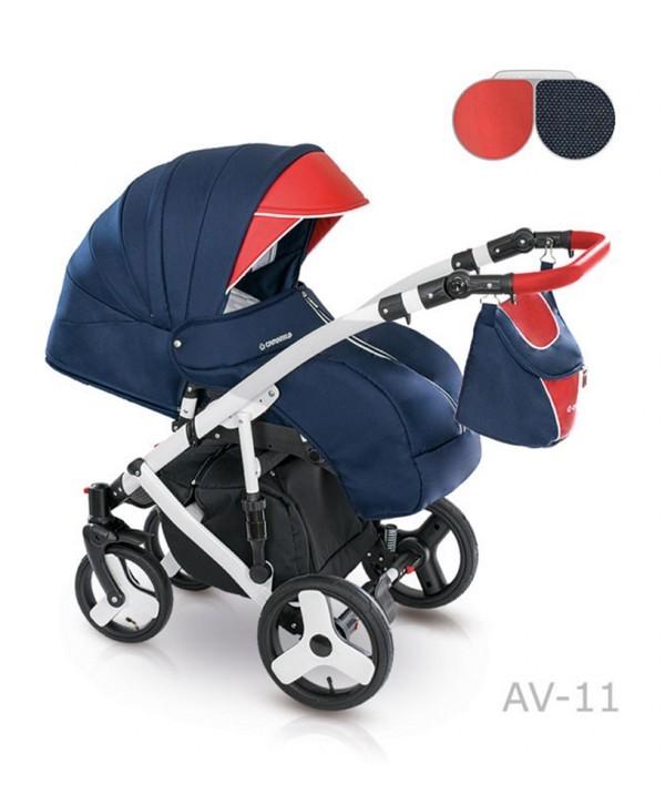 Детская универсальная коляска 2 в 1 camarelo avenger av - 13 фото №5