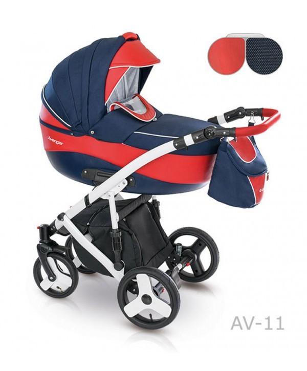 Детская универсальная коляска 2 в 1 camarelo avenger av - 13 фото №6