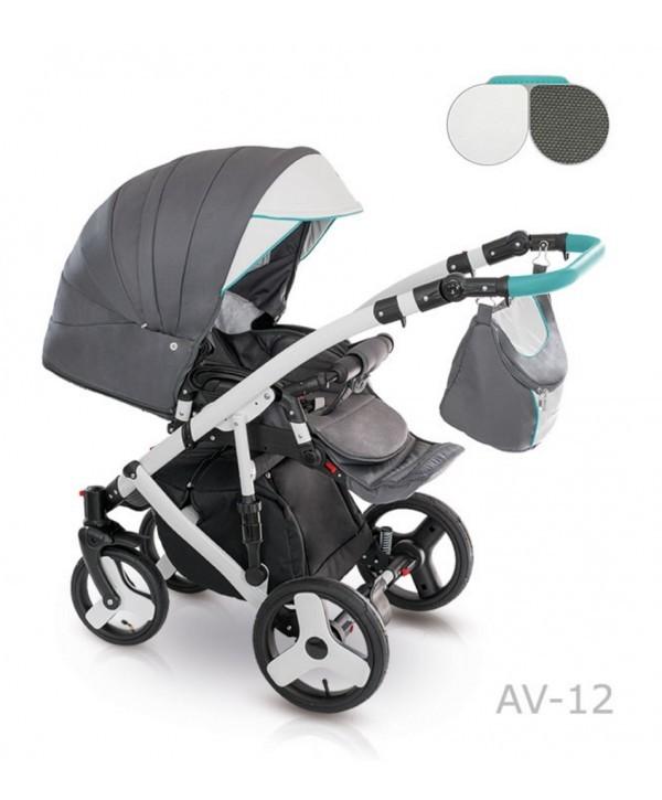 Детская универсальная коляска 2 в 1 camarelo avenger av - 13 фото №7