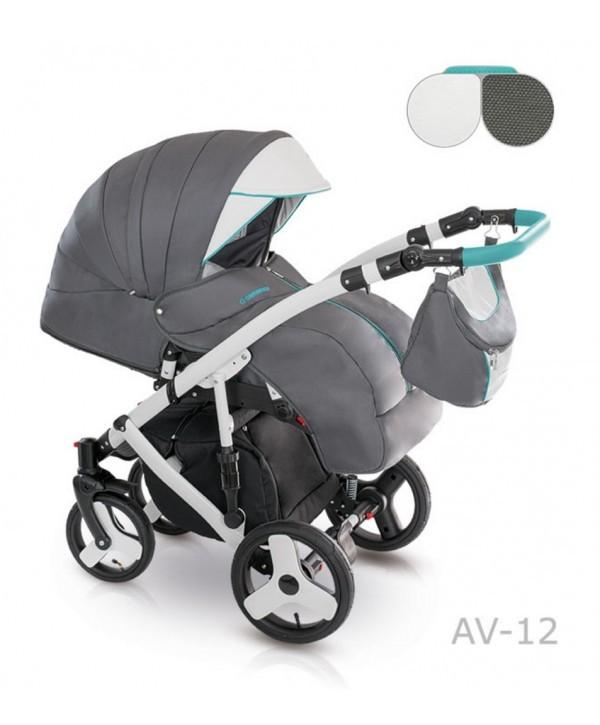 Детская универсальная коляска 2 в 1 camarelo avenger av - 13 фото №8