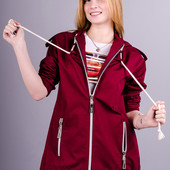 Распродажа Куртка парка женская Энджи.  42-56р.