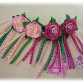 Троянди на резинці або заколці