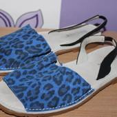 Кожаные босоножки сандалии Bronx разм 39-40