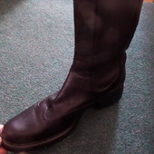 Кожаные ботинки Campanile -размер 37,5-38,5